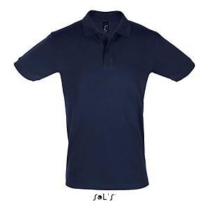 Pólo de manga curta Sols Perfect - azul marinho - tamanho XL