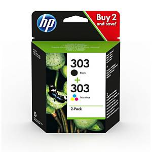 Combopack 303 HP 3YM92AE, 200/165 pages, BK/color