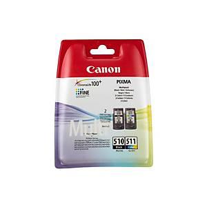 Multipack Tinte CANON PGCL510/1, 9ml, schwarz/color