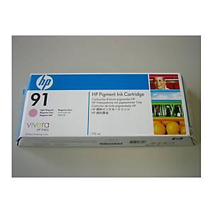 Tintenpatrone 91 HP C9487A, light magenta