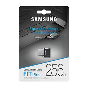 USB Drive SAMSUNG MUF-256AB, Fit Plus 256GB, USB 3.1