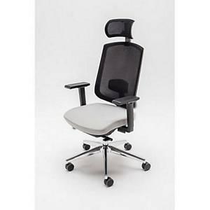 Bürostuhl Sava, ergonomisch, grau schwarz