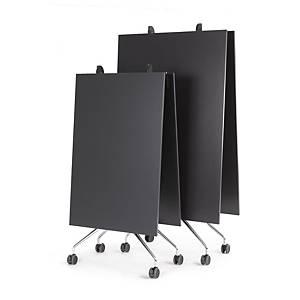 Meetingtisch, 320x100 cm, klappbar, schwarz
