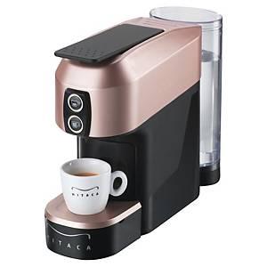 Machine à café Mitaca M1 - noir/rose doré