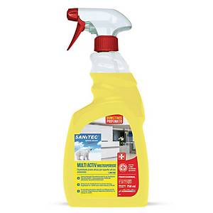 Detergente multisuperficie Sanitec Multiactive profumato 750 ml