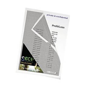 Seco ECO Dokumententasche, 180 Mikron, Packung mit 10 Stück