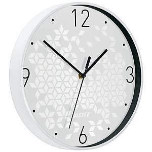 Nástěnné hodiny Leitz WOW, bílé