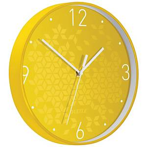 LEITZ WOW CLOCK YELLOW
