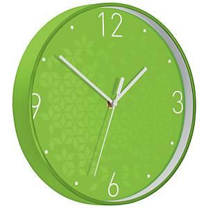 Nástěnné hodiny Leitz WOW, zelené