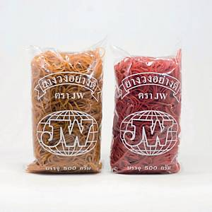 JW RUBBER BANDS 30MM X 1.5MM - PACK OF 500G