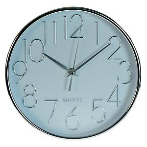 GIAVANI 5029 Wall Clock 10 Inches White