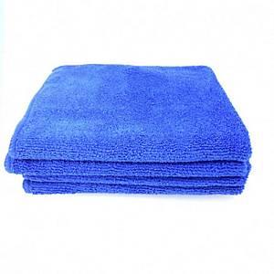 Pack de 5 panos de microfibra - 40 x38 cm - Azul