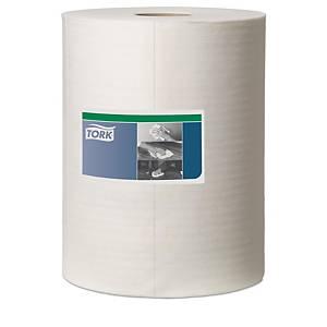 Tork Premium 510 werkdoek, combirol in dispenserdoos, 400 vellen, 1-laags, wit