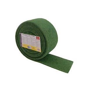 Rollo estropajo de fibra  6 m x 15 cm - Verde