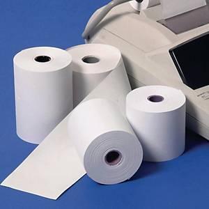 DELTA กระดาษความร้อน แบบม้วน ขนาด 57X30มม. แพ็ค 10 ม้วน