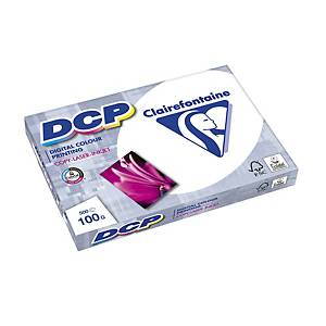 Papier A3 blanc pour impressions couleur Clairefontaine DCP, 100 g, 500 feuilles