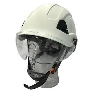 Honeywell 安全帽連面片及Y型下巴帶 白色