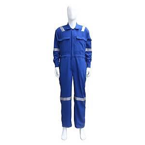 TEIJINCONEX ชุดหมีกันไฟ ผ้าเทยิน 6 ออนซ์ S สีน้ำเงิน