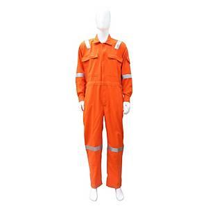 TEIJINCONEX ชุดหมีกันไฟ ผ้าเทยิน 6 ออนซ์ M สีส้ม