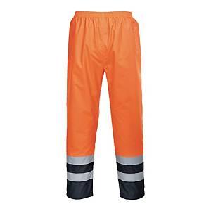Spodnie ostrzegawcze PORTWEST S486 HV, pomarańczowo-granatowe, rozmiar M