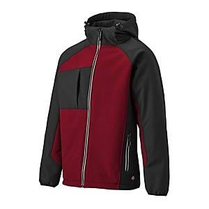 Dickies JW7023 Softshell XX-Large Black/Red
