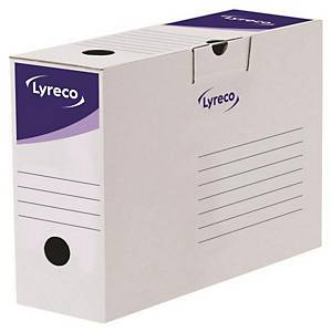 LYRECO 문서보관상자 10cm 20개입