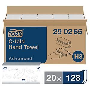 Ręczniki papierowe TORK ADVANCED składka ZZ, 20 x 128 listków