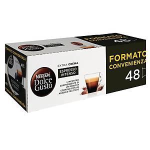 Caffè Espresso Intenso Nescafè DolceGusto - conf. 48 capsule