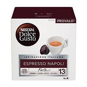 Caffè Espresso Napoli Nescafè DolceGusto - conf   16 capsule