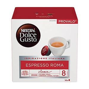 Caffè Espresso Roma Nescafè DolceGusto - conf   16 capsule