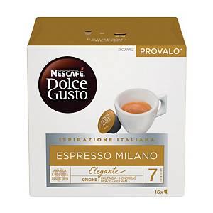 Caffè Espresso Milano Nescafè DolceGusto - conf   16 capsule