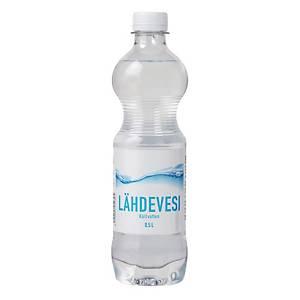 Lähdevesi 0,5L, 1 kpl=12 pulloa