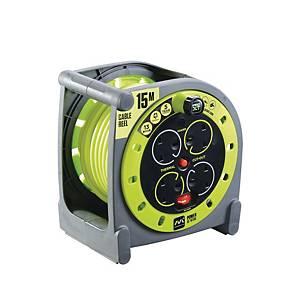Pro XT HMU15134SL-PX 15m Case Reel Green