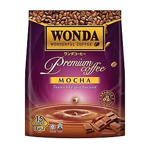 Wonda Coffee 3 in 1 Mocha 25g - Pack of 15