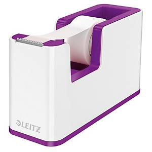 Zásobník na lepiace pásky Leitz 5364 WOW, na pásky, 19 mm x 33 m, fialová