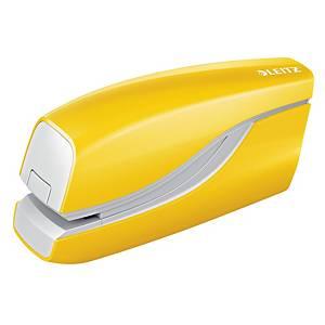 Elektrická zošívačka Leitz WOW 5566, kapacita: 10 listov, žltá