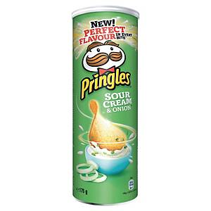 Chips Pringles Crème Oignon - boîte de 175 g