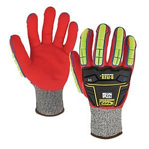 Guanti anti-impatto Ansell Ringers Gloves 068 R-Flex Impact  impermeabile tg 10