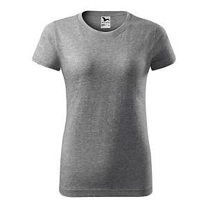 Koszulka MALFINI Basic damska, ciemnoszara, rozmiar L