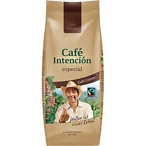 Kaffee Darboven Café Intención especial Café Crème, Fairtrade, ganze Bohne, 500g