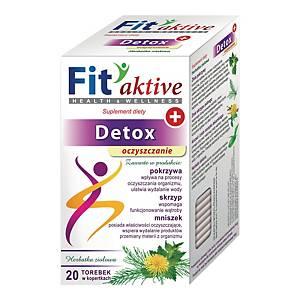 Herbata funkcjonalna MALWA Detox Oczyszczanie, 20 torebek