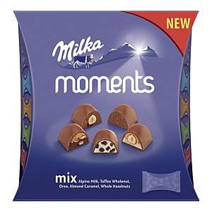 Praliny MILKA Moments Mix, 16 czekoladek