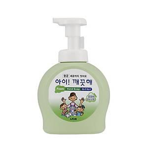 CJ라이온 아이깨끗해 거품형 핸드솝 대용량 490ml 청포도