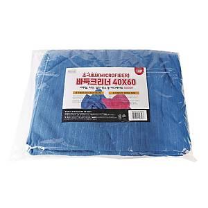 CHECK MOP BLUE 40X60CM
