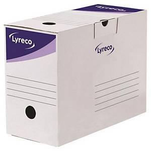 리레코 LYRECO 문서보관상자 15cm 20개입