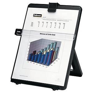 Konzepthalter Fellowes 21106, verstellbar, Kunststoff, Format A4, schwarz