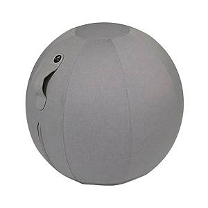 Seduta ergonomica a sfera Alba diametro 65cm grigio