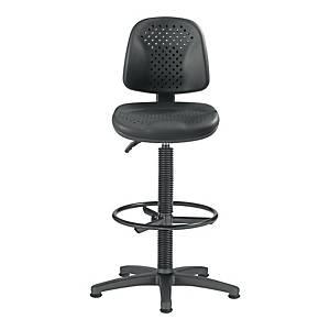 Krzesło obrotowe NOWY STYL GAMBIA, czarne