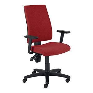 Krzesło biurowe NOWY STYL TITO, czerwone