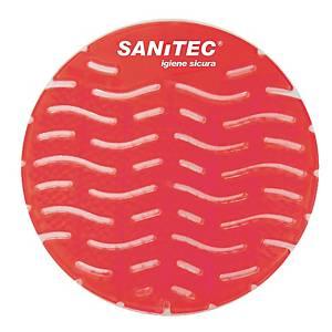 Retina deodorante Sanitec per orinatoio rosso - conf. 50